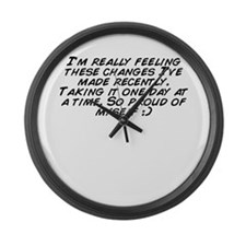 Unique Recent Large Wall Clock
