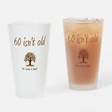 Unique Funny 60th birthday Drinking Glass