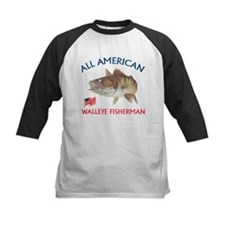 All american Walleye Fisherman Tee