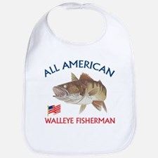 All american Walleye Fisherman Bib