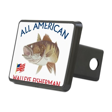 All american Walleye Fisherman Rectangular Hitch C