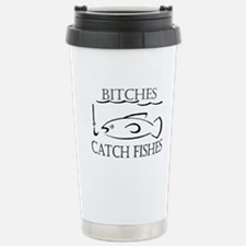 Cute Fish hook Travel Mug