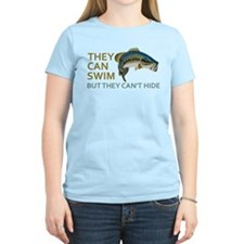 They Can Swim but They Can't Hide T-Shirt