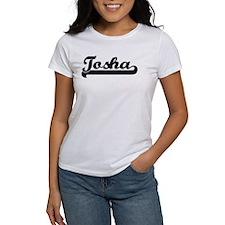 Black jersey: Tosha Tee