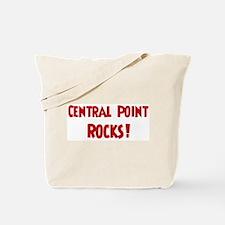 Central Point Rocks Tote Bag
