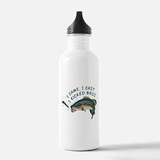 I Kicked Bass Water Bottle