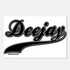 DeeJay Postcards (Package of 8)