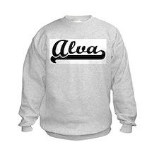 Black jersey: Alva Sweatshirt