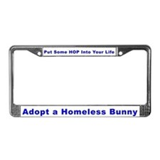 Unique Bunnies License Plate Frame