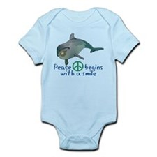 Peace Begins with a Smile Infant Bodysuit