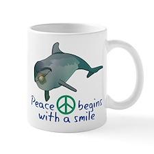 Peace Begins with a Smile Mug