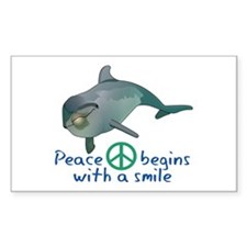 Peace Begins with a Smile Decal