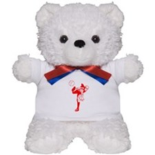 Red Baseball Pitcher Teddy Bear