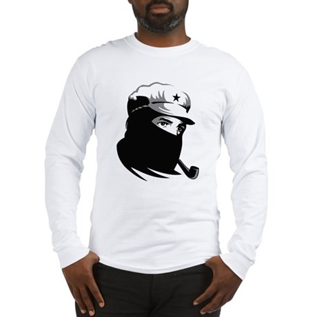 Strk3 Monochrome Zapatista Long Sleeve T-Shirt