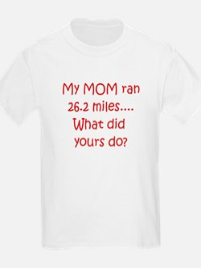 Mom Marathon T-Shirt