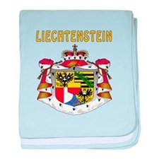 Liechtenstein Coat of arms baby blanket