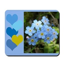 Forget-Me-Not Mousepad