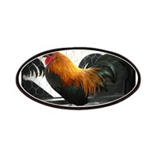 Bantam Rooster Patches