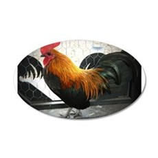 Bantam Rooster Wall Decal
