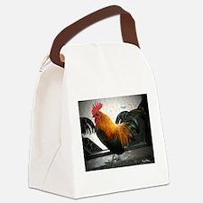 Bantam Rooster Canvas Lunch Bag