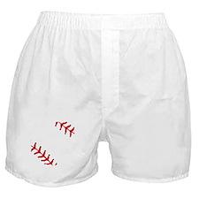 Baseball Close Up Boxer Shorts
