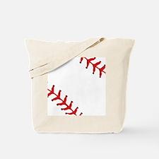 Baseball Close Up Tote Bag