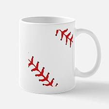 Baseball Close Up Mug