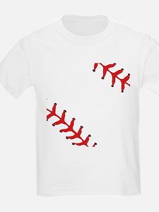 Baseball Close Up T-Shirt