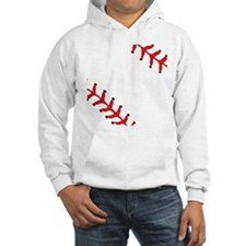 Baseball Close Up Hoodie