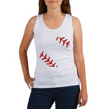 Baseball Close Up Women's Tank Top