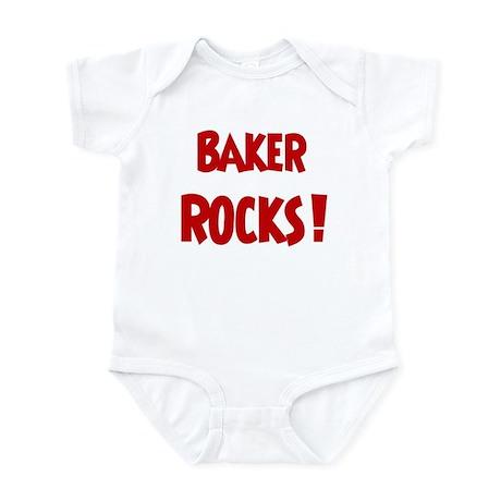 Baker Rocks Infant Bodysuit