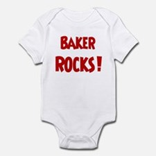 Baker Rocks Infant Bodysuit