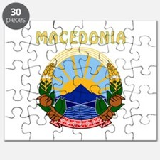 Macedonia Coat of arms Puzzle