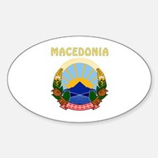 Macedonia Coat of arms Decal