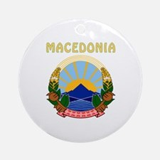 Macedonia Coat of arms Ornament (Round)