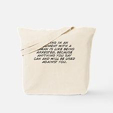 Funny A woman is like a tea Tote Bag