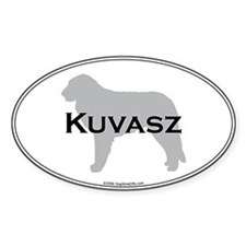 Kuvasz Oval Decal