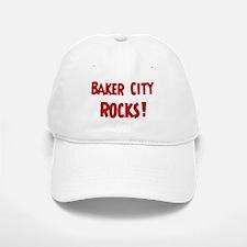 Baker City Rocks Baseball Baseball Cap
