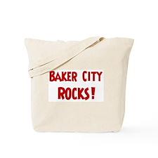Baker City Rocks Tote Bag