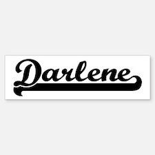 Black jersey: Darlene Bumper Bumper Bumper Sticker