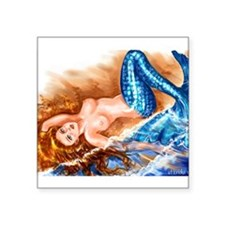 """Mermaid"" Rectangle Sticker"