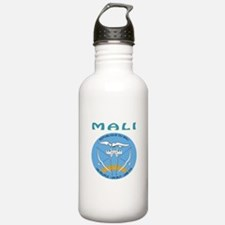 Mali Coat of arms Water Bottle