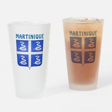 Martinique Coat of arms Drinking Glass