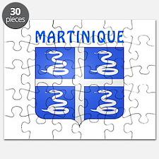 Martinique Coat of arms Puzzle