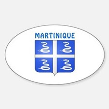 Martinique Coat of arms Decal