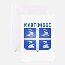 Martinique Coat of arms Greeting Card