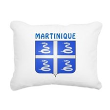 Martinique Coat of arms Rectangular Canvas Pillow