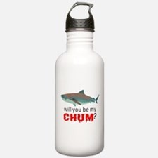 Will you be my CHUM? Water Bottle