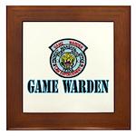 Fort Hood Game Warden Framed Tile