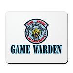 Fort Hood Game Warden Mousepad